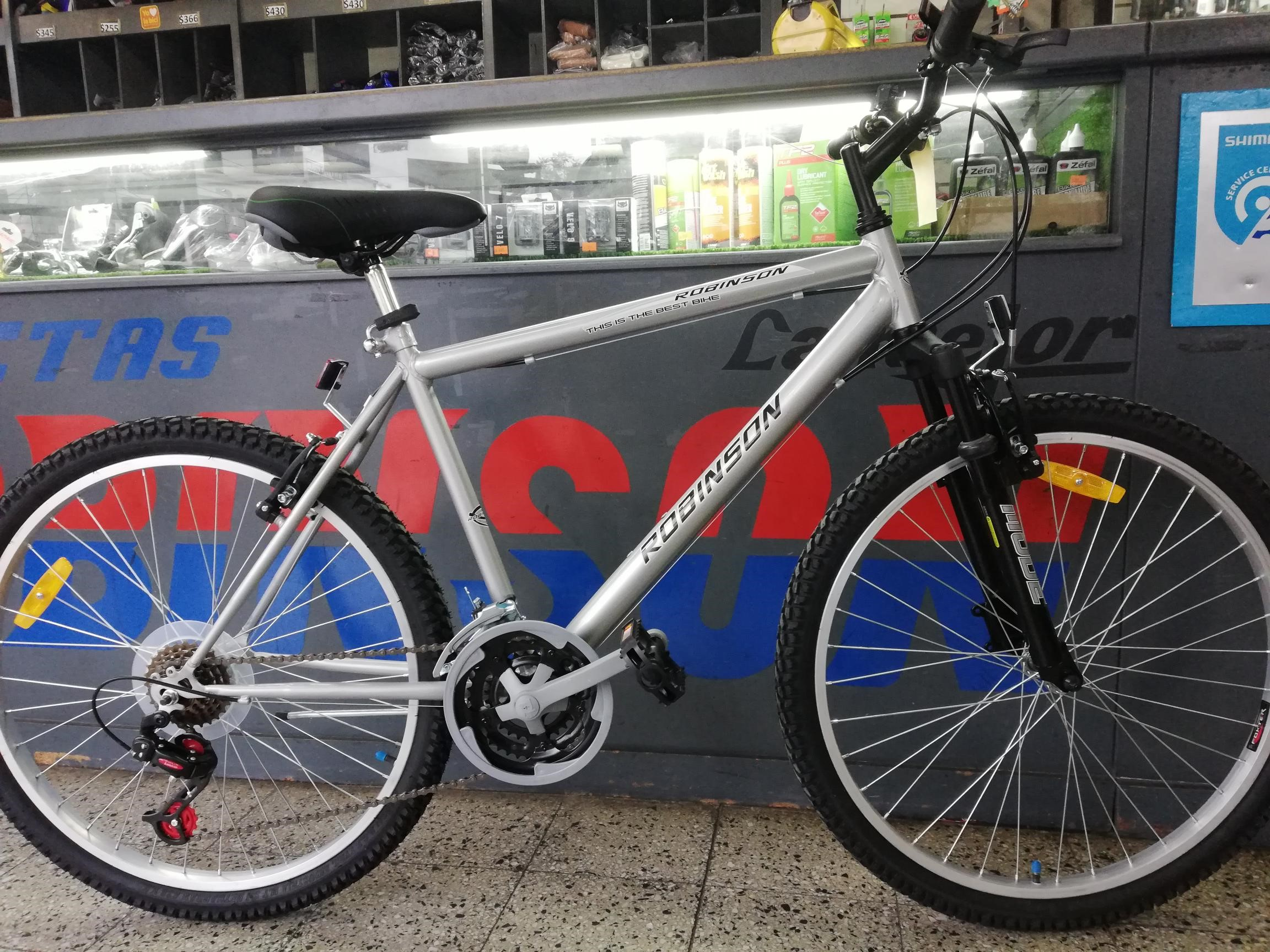 Bic. Robinson MTB 18 vel  con suspension